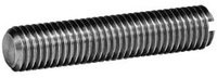SLOTTED SET SCREWS (FLAT POINT)