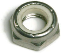 INCH - HEX LOCK NUTS (THIN PATTERN)